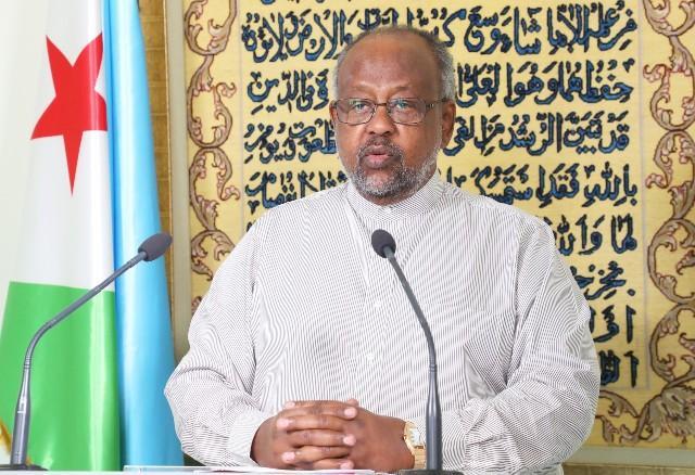 رئيس الجمهورية يهنئ الشعب الجيبوتي والأمة الاسلامية بمناسبة حلول شهر رمضان المبارك