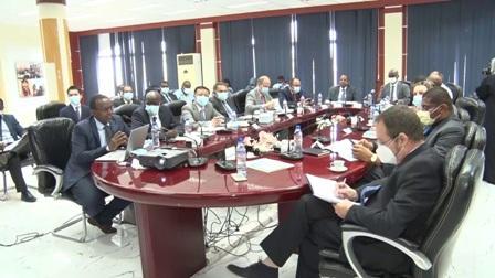 اجتماع عمل حول مشروع الميثاق الوطني للتوظيف